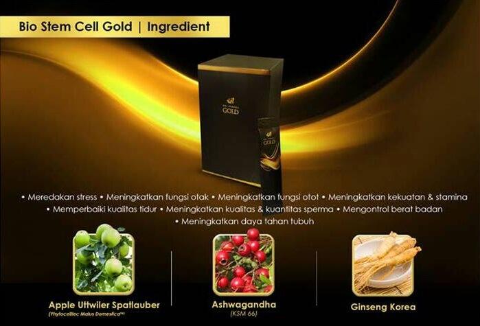 komposisi bio stemcell gold