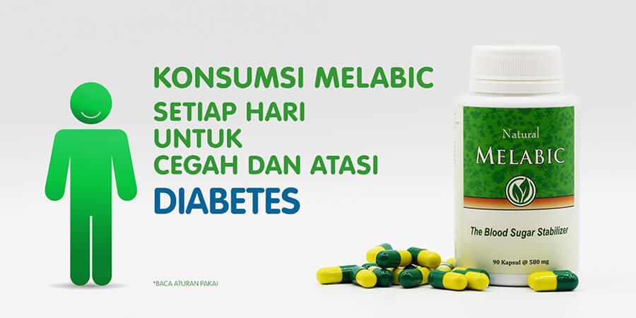 melabic cegah dan obati diabetes